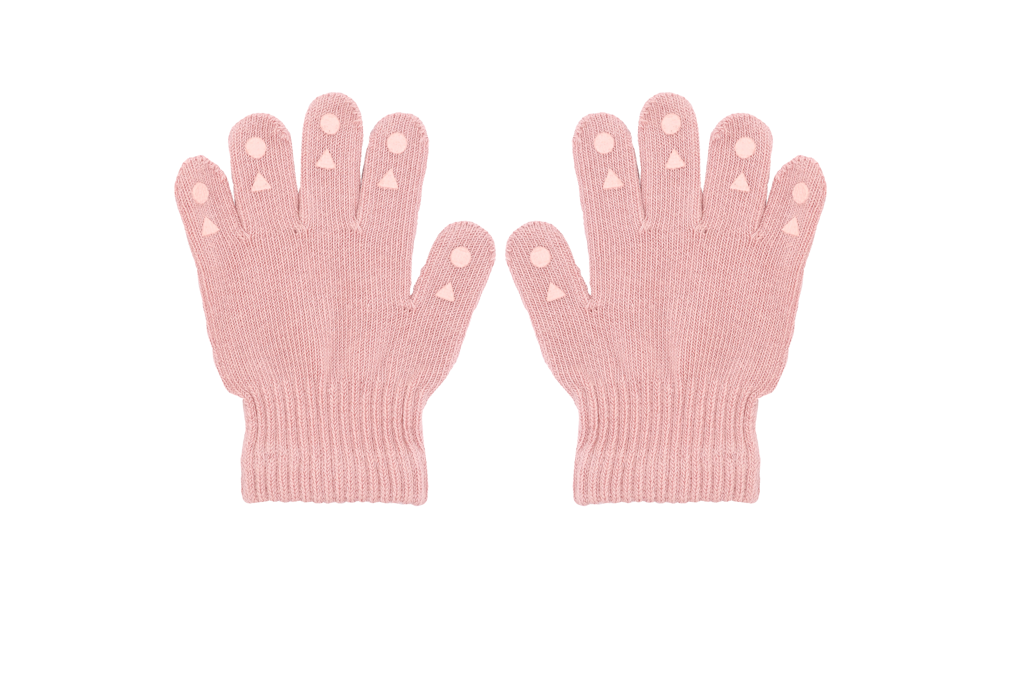 GoBabyGo Grip Gloves Fingervantar 2-3 år - Dusty Rose
