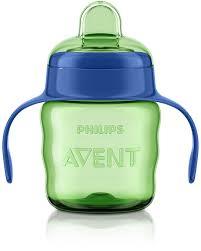 Philips avent classic kop m/drikketud 200 ml. til drenge, 5 stk. på lager fra Philips avent på pixizoo