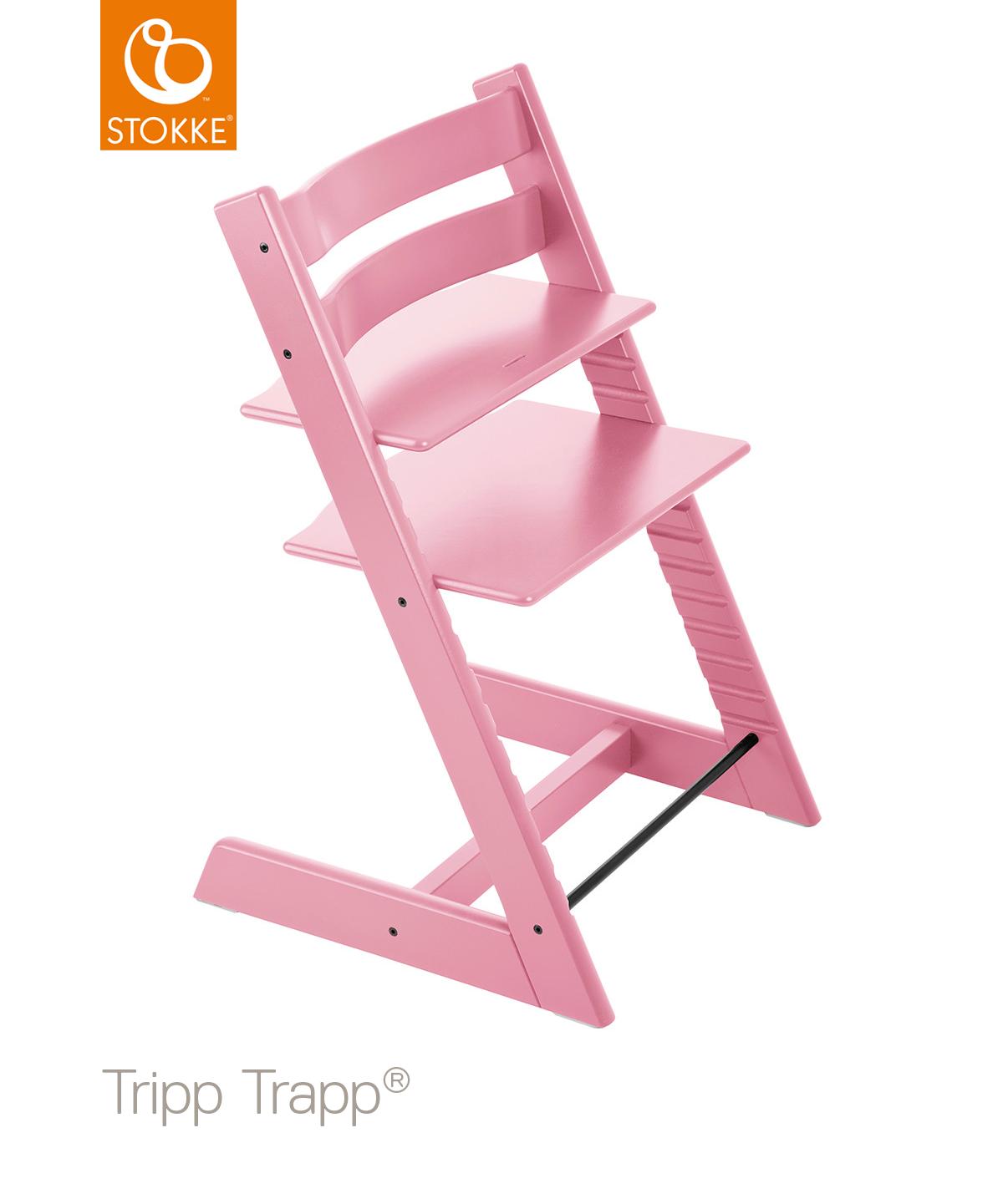 Stokke Tripp Trapp Barnstol - Rosa