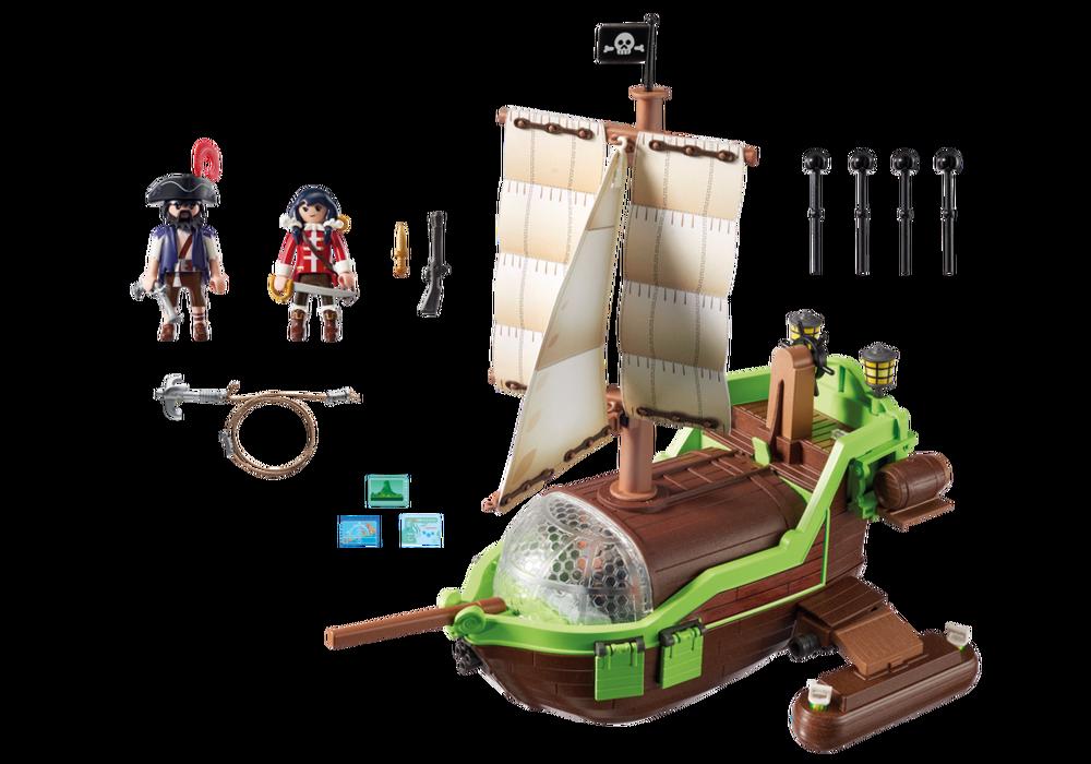 Playmobil Super 4 (9000) Piratkameleont med Ruby