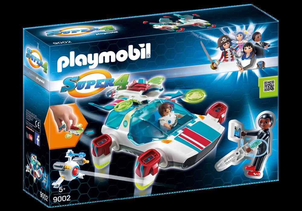 Playmobil Super 4 (6692) FulguriX med Agent Gene