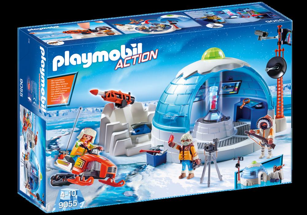 Playmobil Polarforskernes hovedkvarter (9055) - playmobil, 1 stk. på lager på pixizoo