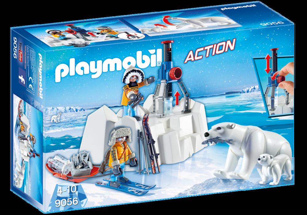 Polar ranger med isbjørne (9056) - playmobil, 4 stk. på lager fra Playmobil på pixizoo