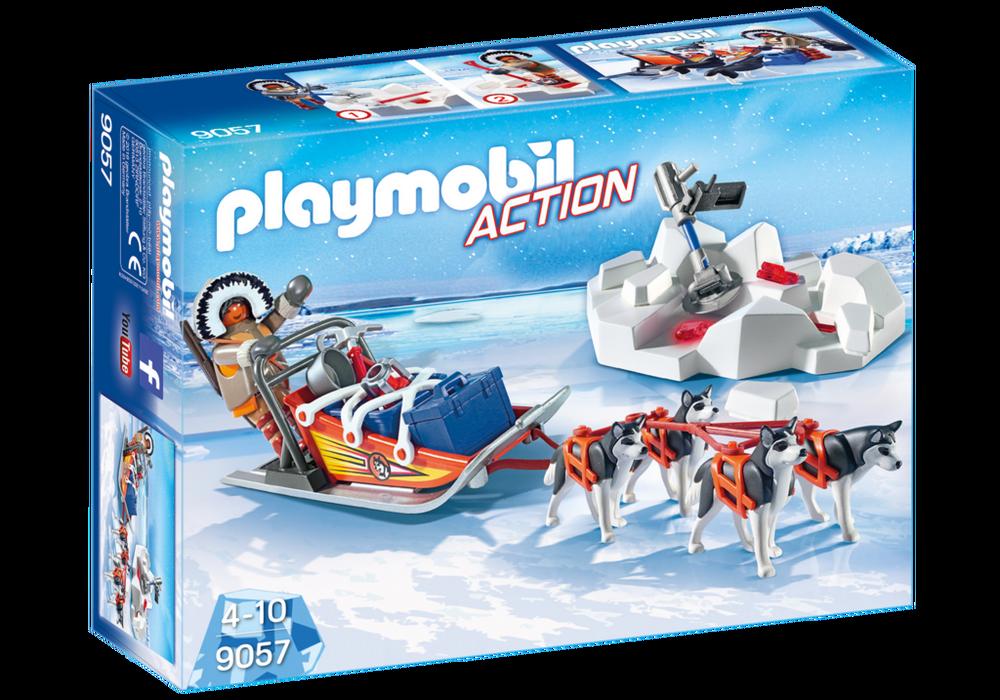 Playmobil – Hundeslæde (9057) - playmobil, 5 stk. på lager fra pixizoo