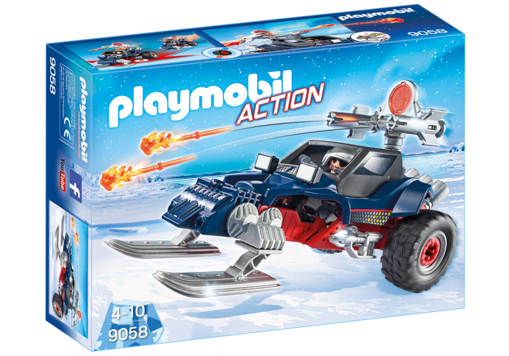 Playmobil – Is pirat med snemobile (9058) - playmobil, 1 stk. på lager på pixizoo