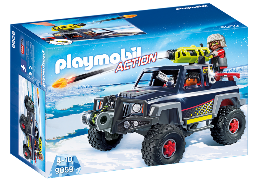 Playmobil Action (9059) Ispirater med Lastbil