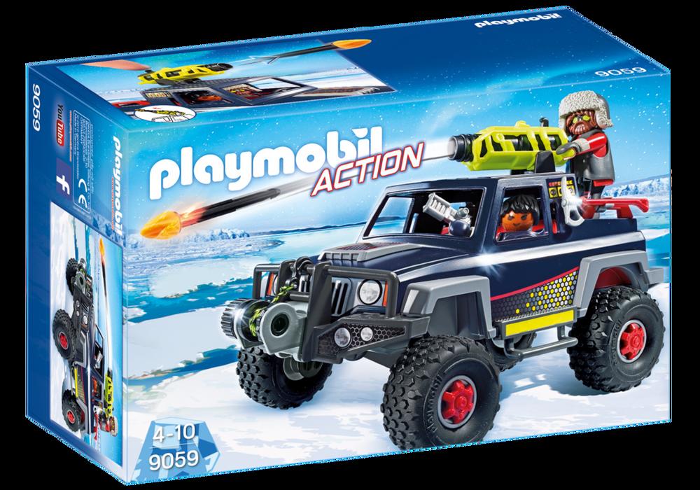 Is pirater med snetruck (9059) - playmobil, 6 stk. på lager fra Playmobil fra pixizoo