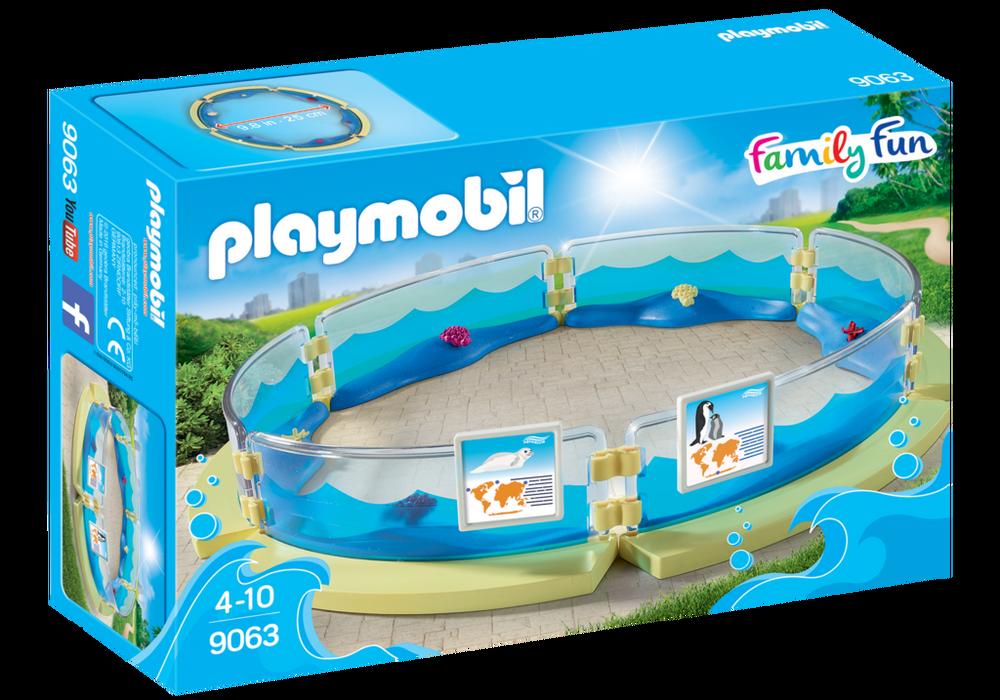 Akvarieindhegning (9063) - Playmobil