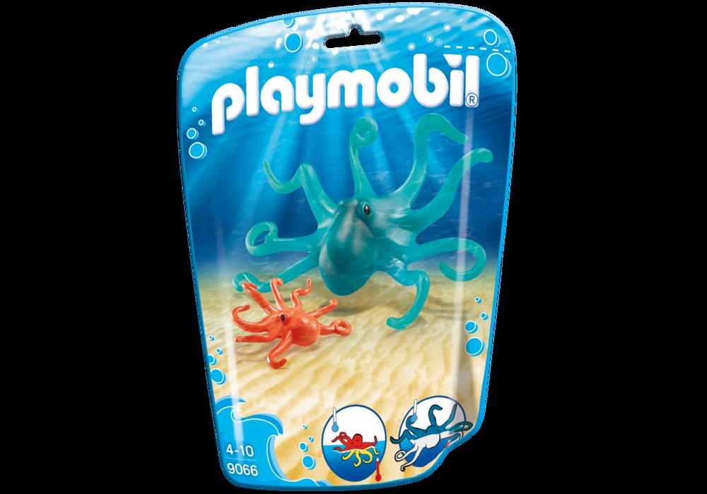 Playmobil FamilyFun (9066) Bläckfisk med Unge