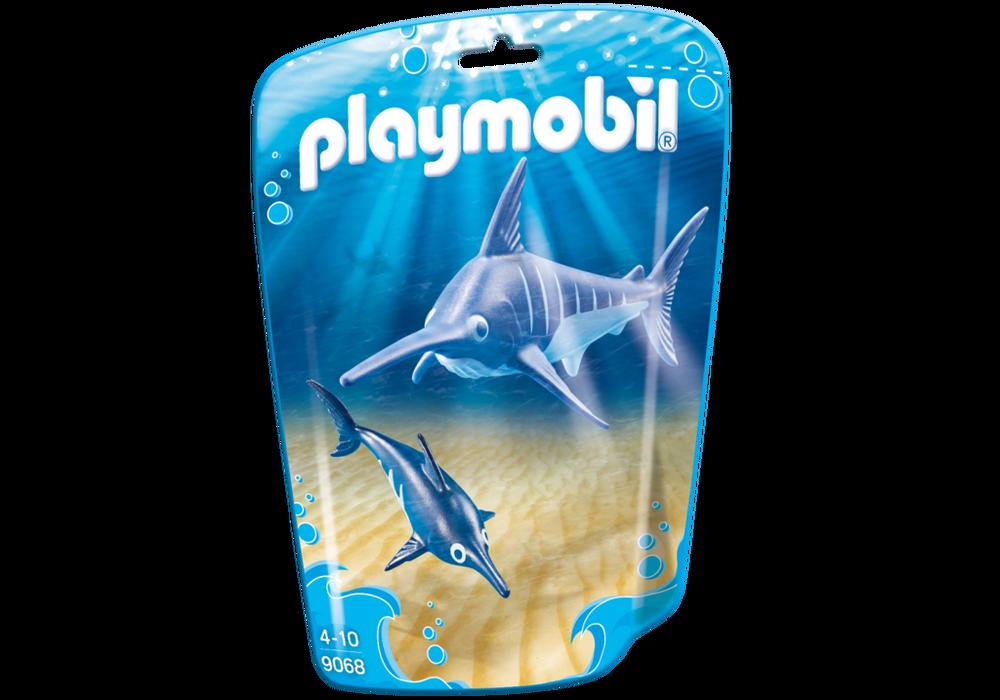 Playmobil FamilyFun (9068) Svärdfisk med Unge
