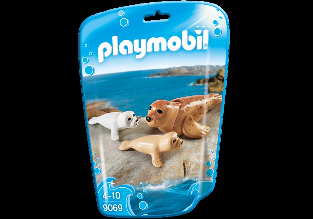 Playmobil FamilyFun (9069) Säl med Ungar