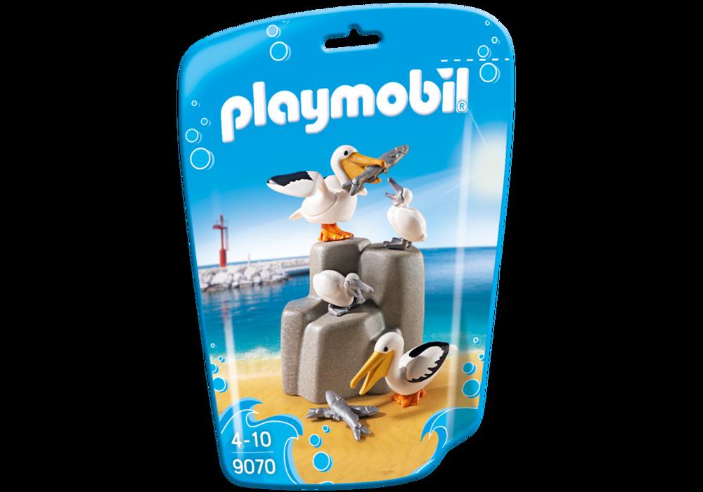 Playmobil FamilyFun (9070) Pelikanfamilj