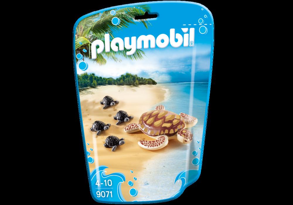 Playmobil FamilyFun (9071) Havsköldpadda med Ungar