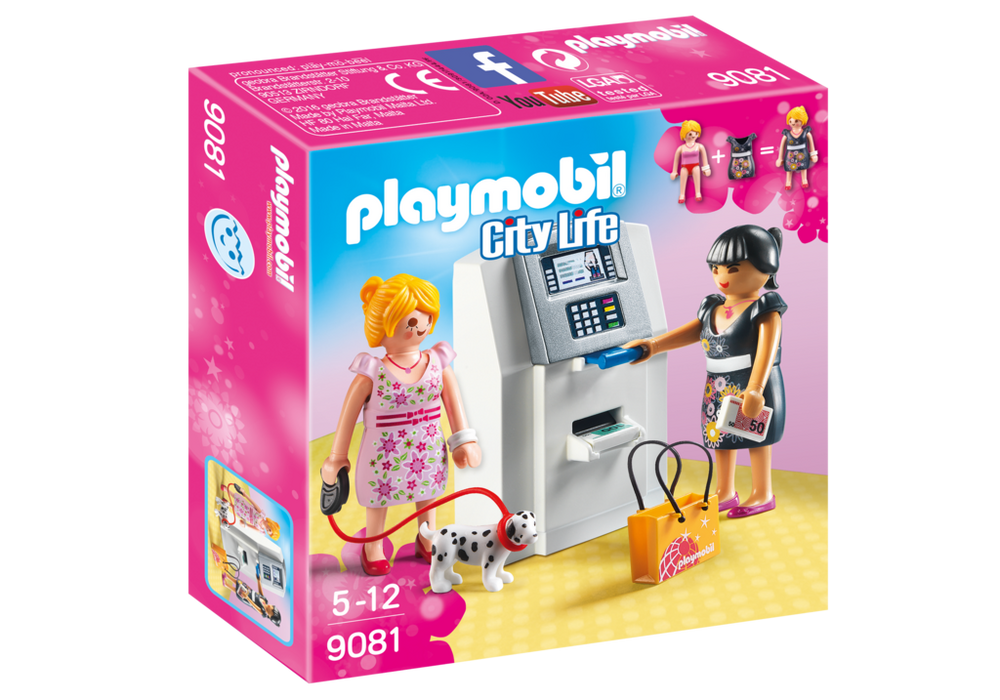 Playmobil City Life (9081) Bankomat