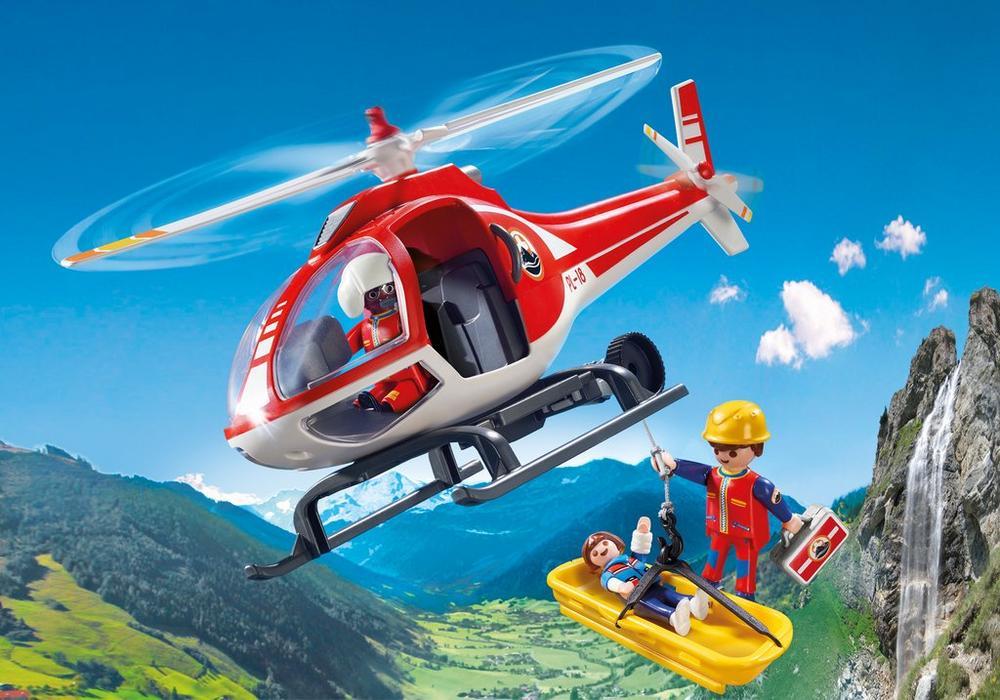 Playmobil – Redningshelikopter (9127) - playmobil, 2 stk. på lager på pixizoo