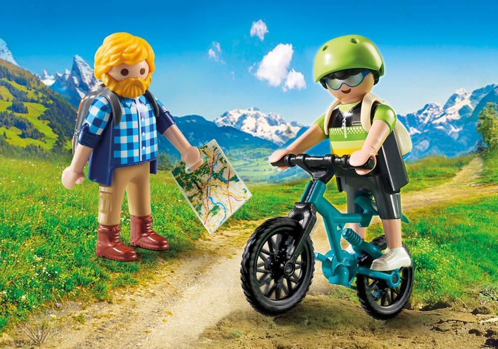 Playmobil Action (9129) Cyklist och Vandrare