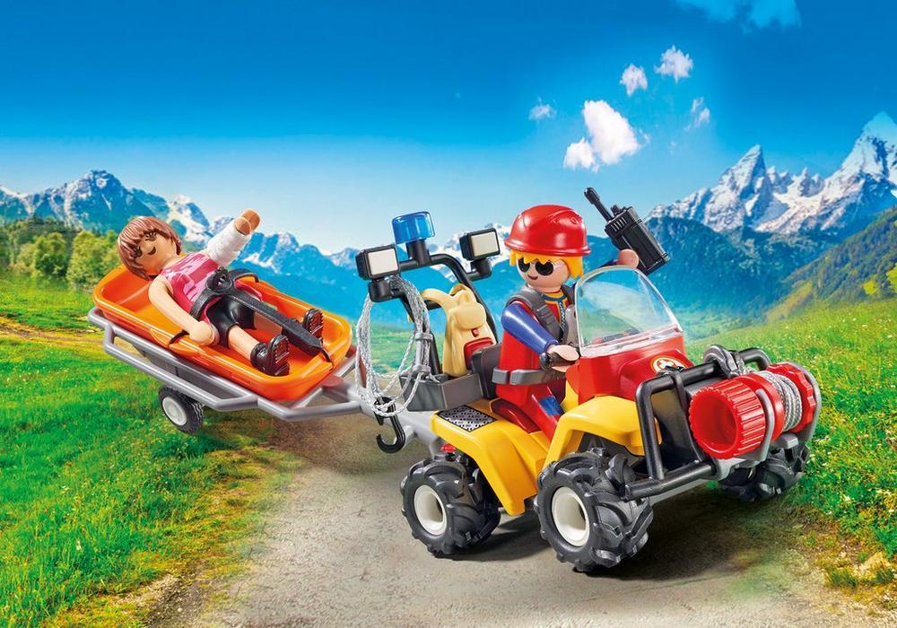 Redningshold (9130) - playmobil, 4 stk. på lager fra Playmobil på pixizoo