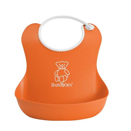 Babybjã–rn – Babybjørn - blød orange hagesmæk, 7 stk. på lager fra pixizoo