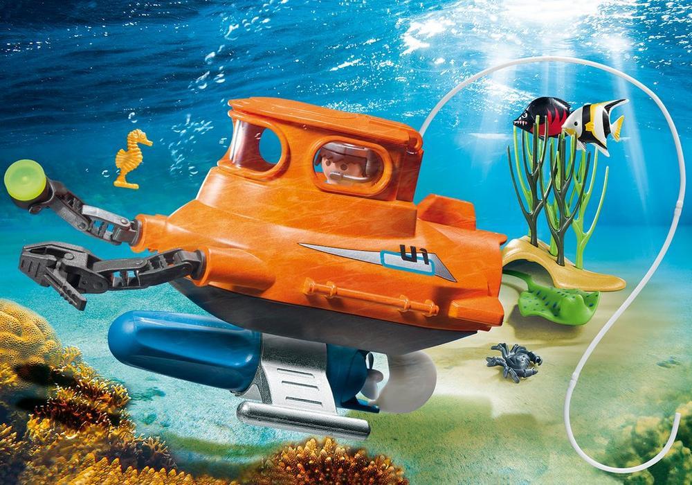 Playmobil Sport & Action (9234) Ubåt med Undervattenmotor
