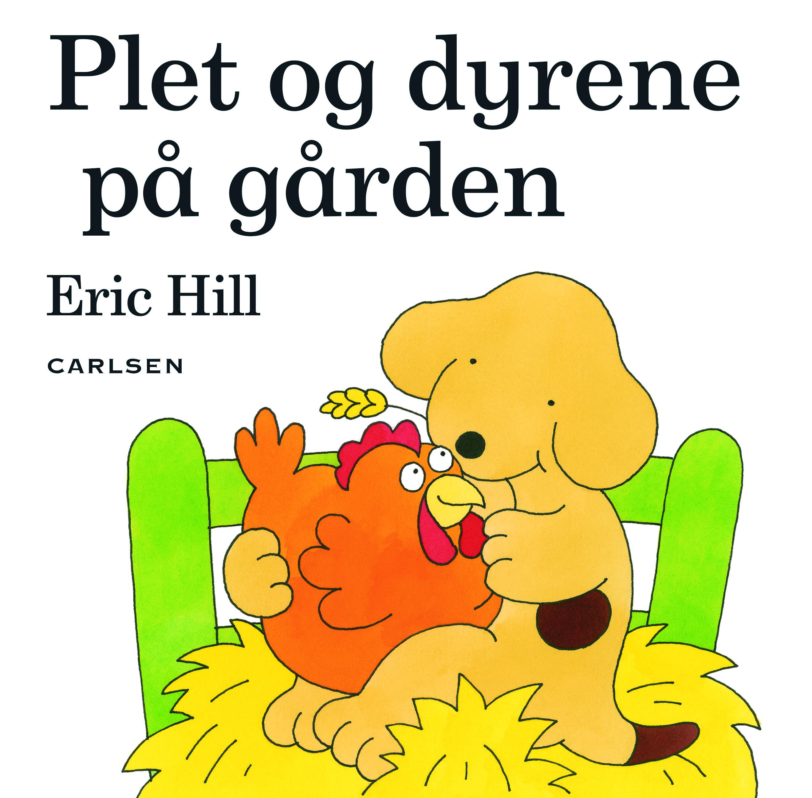 Carlsen Carlsen plet og dyrene på gården, 6 stk. på lager på pixizoo