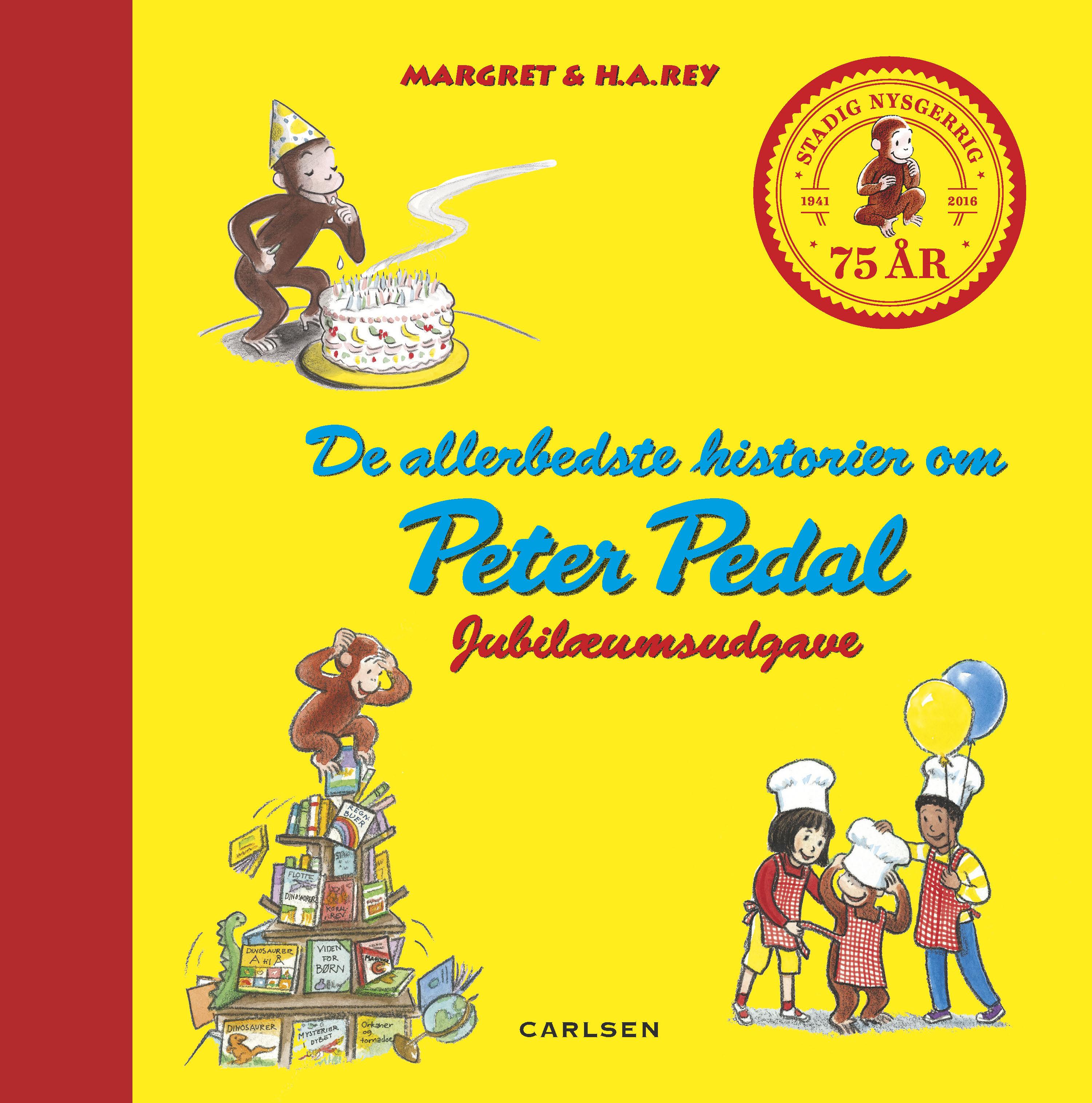 Carlsen de allerbedste historier med peter pedal, 2 stk. på lager fra Carlsen på pixizoo