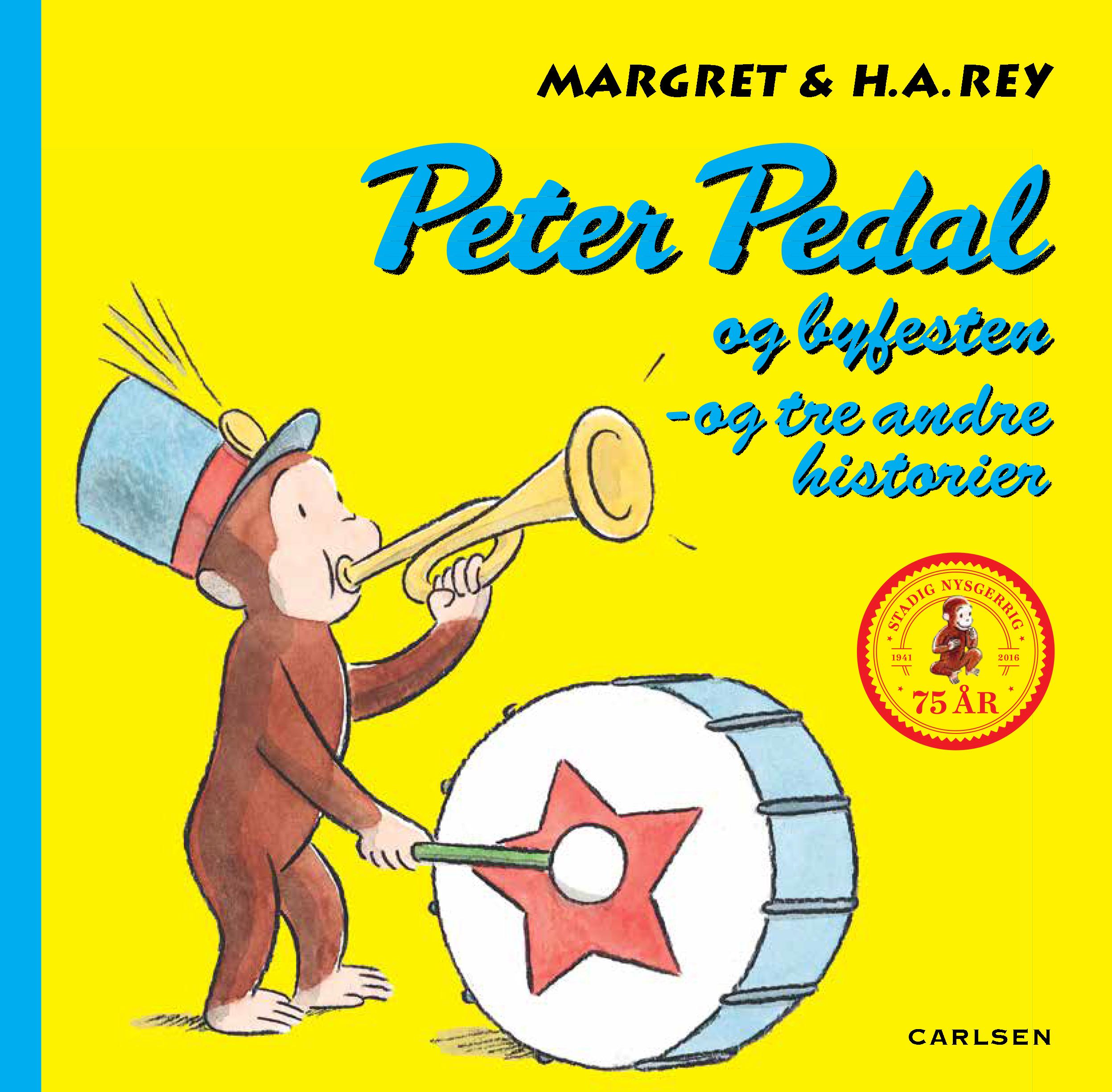 Carlsen – Carlsen peter pedal og byfesten +3 historier, +10 stk. på lager fra pixizoo