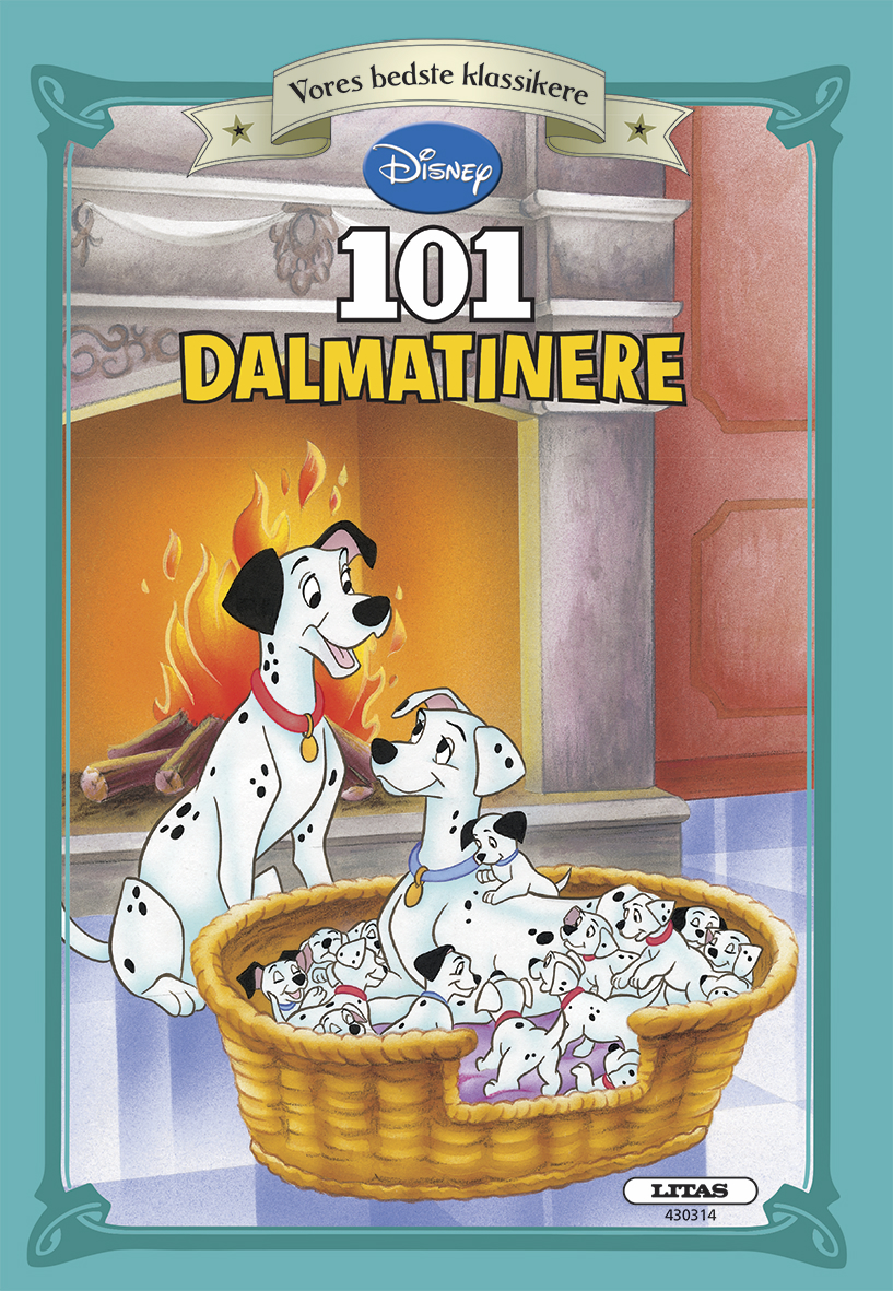 Carlsen vores bedste klassikere 101 dalmatinere , 9 stk. på lager fra Carlsen fra pixizoo