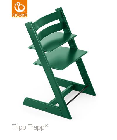 Stokke Tripp Trapp Barnstol - Mörk Grön