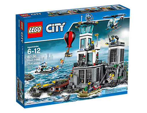 LEGO City (60130) Fängelseön