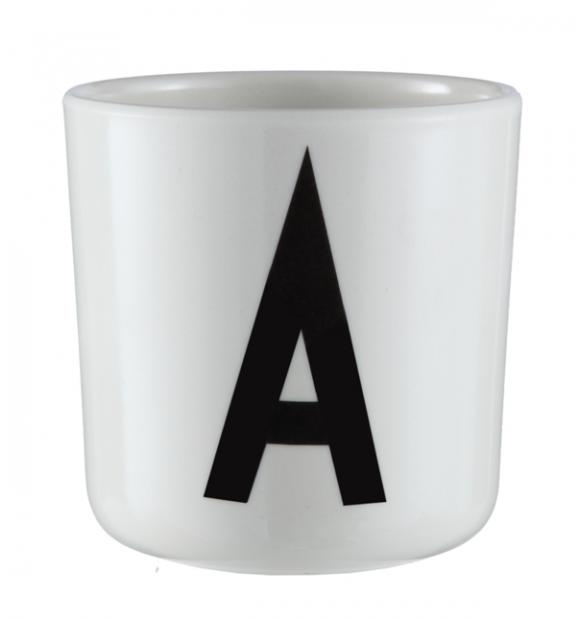 Designletters – Design letters - aj melamin - a kop, 8 stk. på lager fra pixizoo