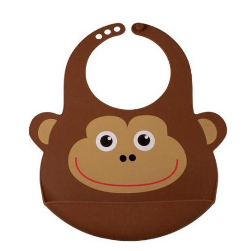 Safe health silikone abe hagesmæk - brun, 6 stk. på lager fra Safe health på pixizoo