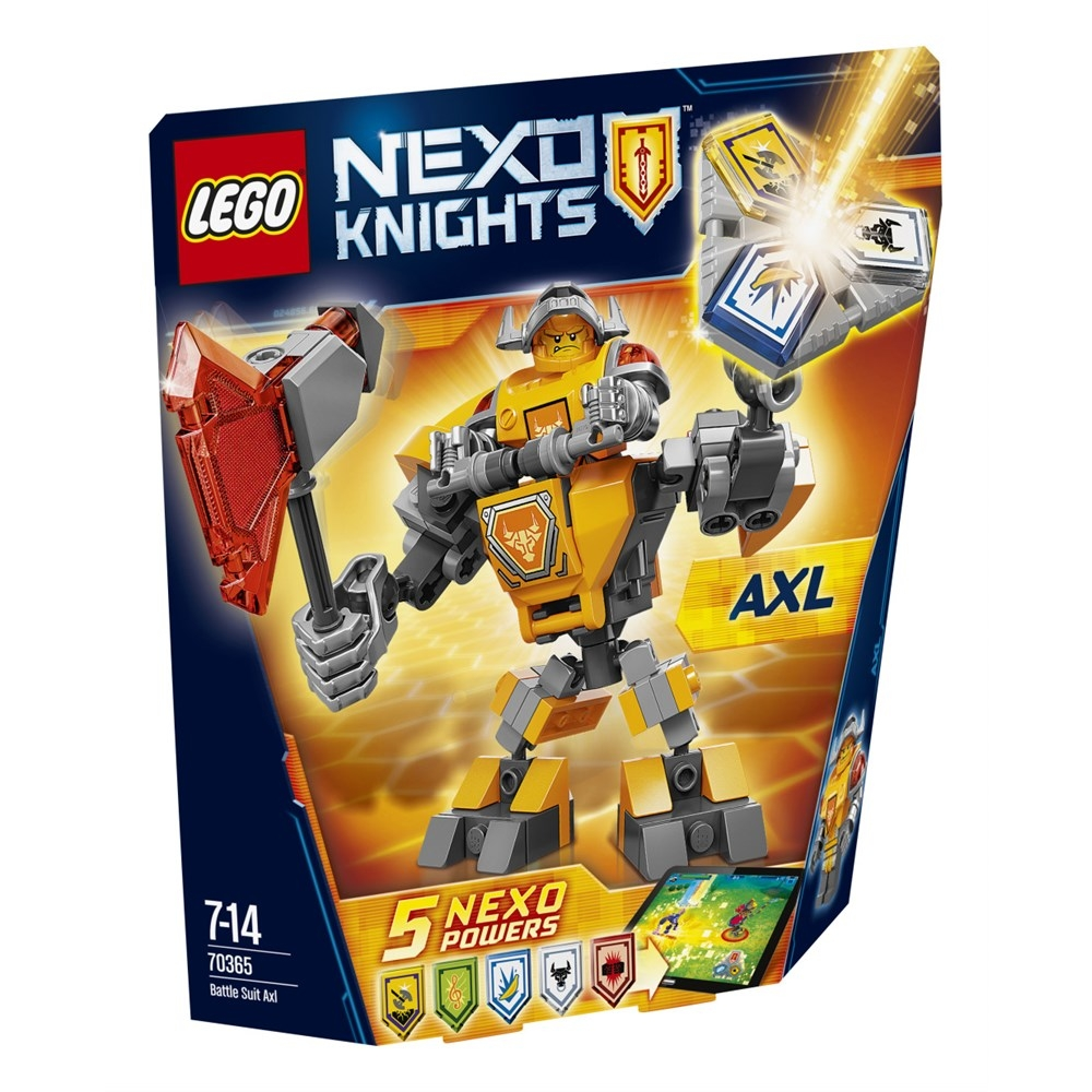 LEGO Nexo Knights (70365) Axl i Stridsrustning