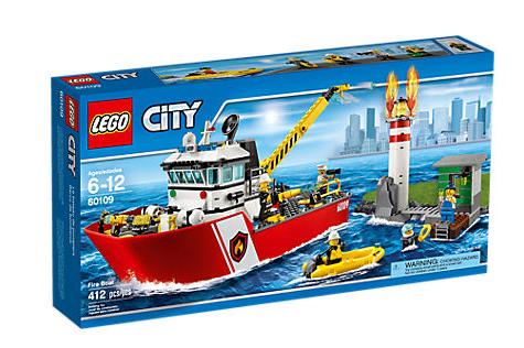 LEGO City (60109) Brandbåt