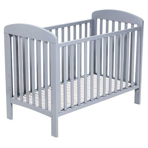 Baby dan alfred baby seng 60x120 cm, grå , 9 stk. på lager fra Baby dan fra pixizoo