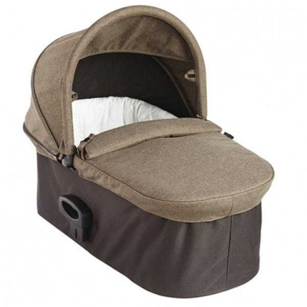 Baby jogger – Baby jogger deluxe pram til single klapvogn - taupe, 5 stk. på lager på pixizoo