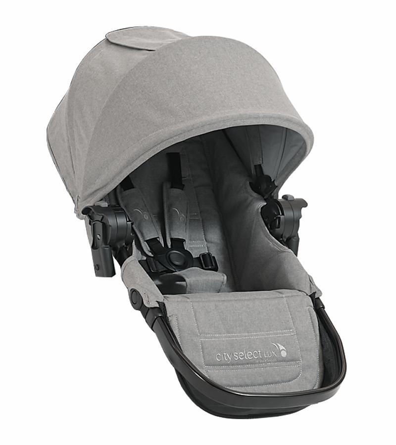Baby jogger – Baby jogger city select lux second seat kit - slate 2017 tilbehør til kombivogn, 5 stk. på lager på pixizoo