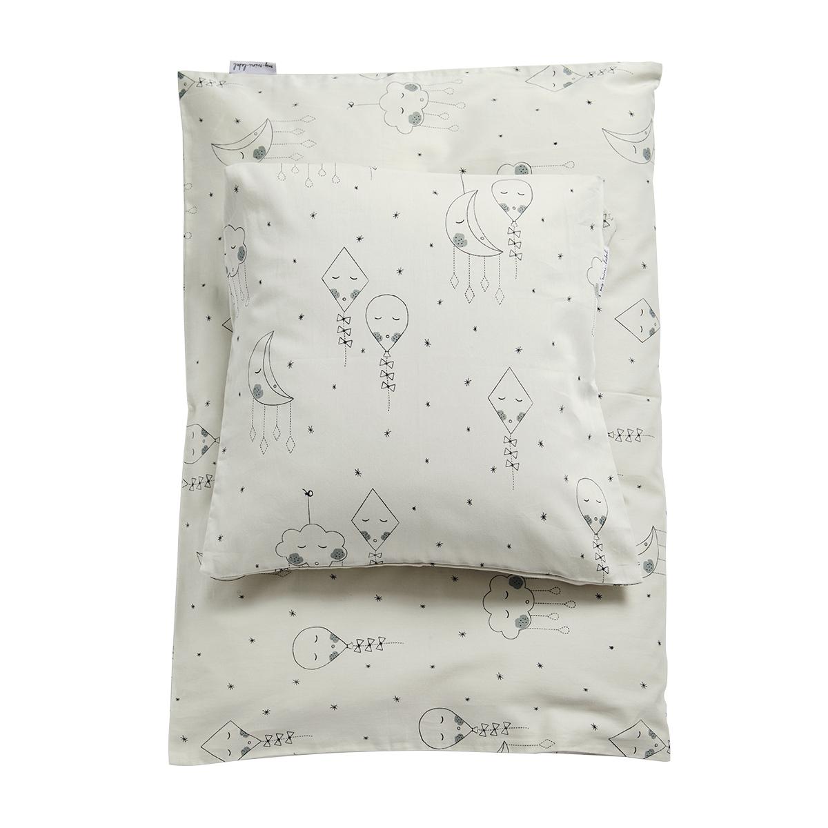 My Mini Label Sängkläder Baby - Ljusgrå