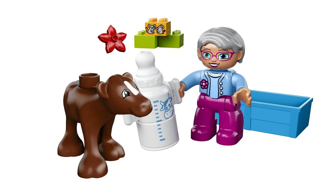 Lego 10521 babykalv klodser, 1 stk. på lager fra Lego på pixizoo