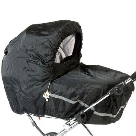 BabyTrold Universal Barnvagn Regnskydd - Svart