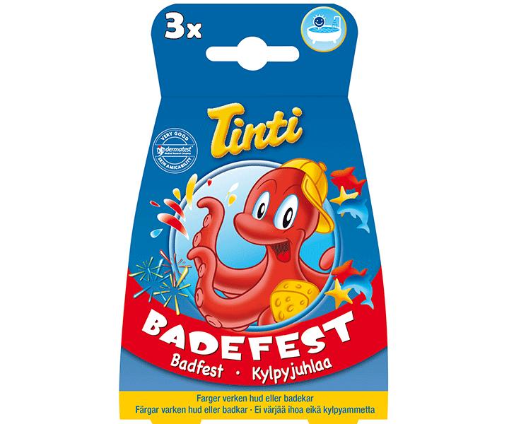 Tinti Tinti badefest 3-pak , 10 stk. på lager på pixizoo