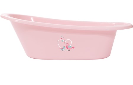 Baby dan Baby dan badekar - baby pink, 8 stk. på lager fra pixizoo