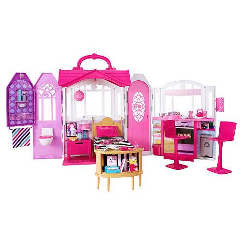 Barbie – Barbie getaway hus, 1 stk. på lager på pixizoo