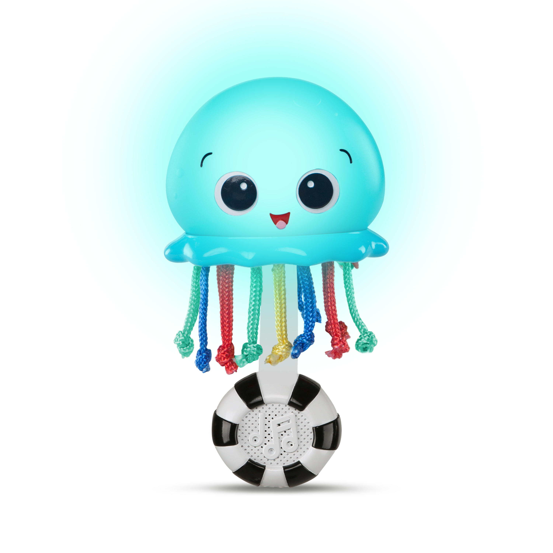 Lysende shaker blæksprutte - baby einstein, 6 stk. på lager fra Baby einstein på pixizoo