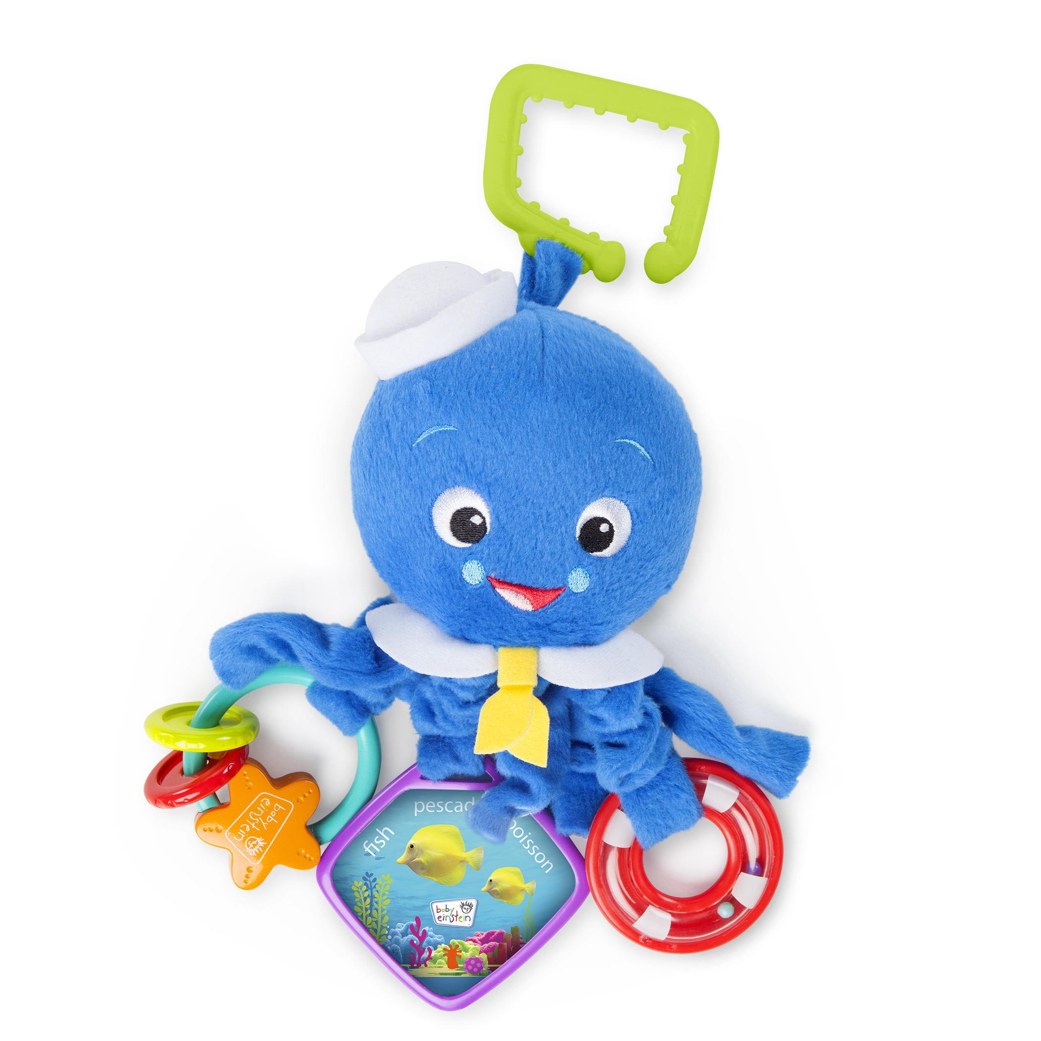Blæksprutte aktivitetslegetøj - baby einstein, 6 stk. på lager fra Baby einstein fra pixizoo