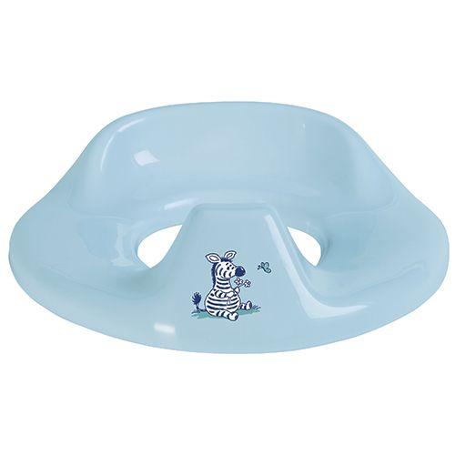 Bã‰b㉠jou Bébé-jou toiletsæde - dinkey world - blå, 1 stk. på lager på pixizoo