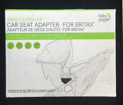 Baby jogger – Baby jogger autostolsadapter - britax, +10 stk. på lager på pixizoo