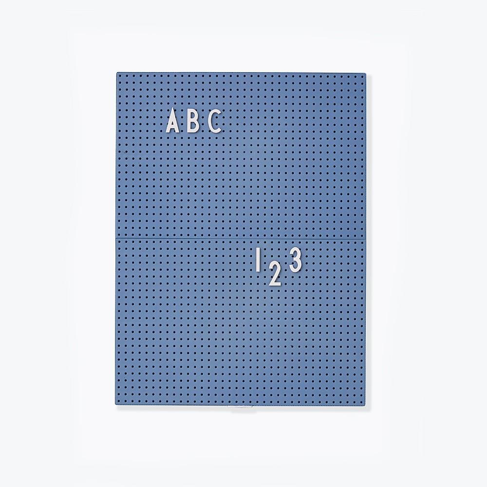 Designletters Designletters message board a4 - blå, 6 stk. på lager fra pixizoo