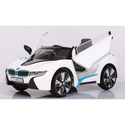 Ride Ons BMW I8 Concept Elbil Exklusiv Modell - Vit