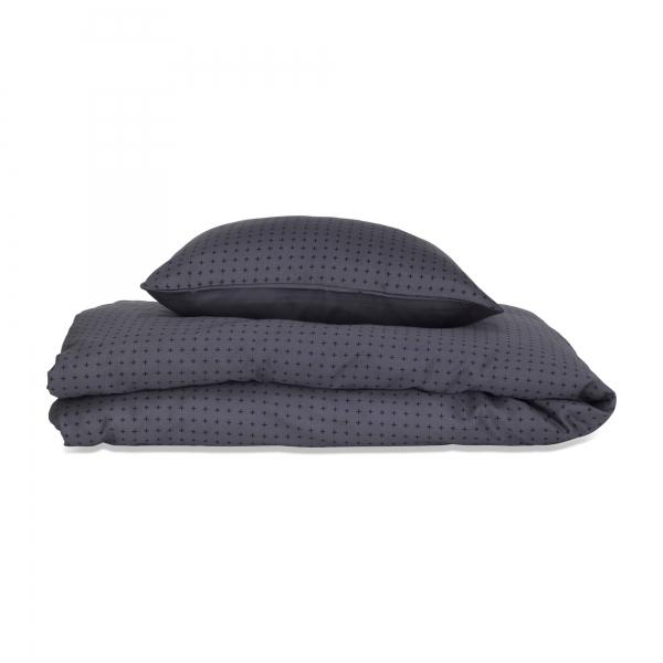 Lehof – Lehof plus bedding baby - dark grey sengetøj, 1 stk. på lager på pixizoo