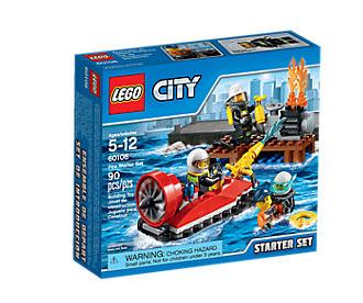 LEGO City (60106) Brandsläckning Startset